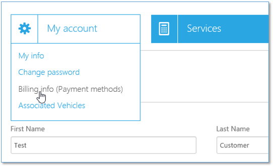 register payment method box