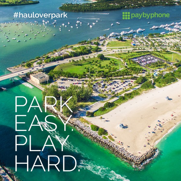 Pay by Phone Promo Haulover Beach