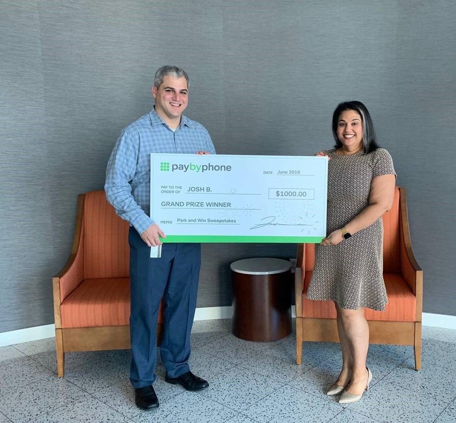 PayByPhone Park & Win Sweepstakes Winners | Miami Parking Authority