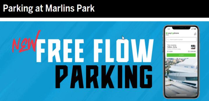 Marlins Free Flow Ad